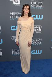 23rd Annual Critics' Choice Awards - Arrivals. 11 Jan 2018 Pictured: Alison Brie. Photo credit: Jaxon / MEGA TheMegaAgency.com +1 888 505 6342