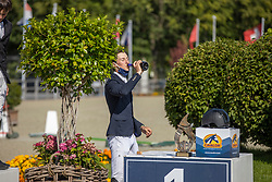 Favede Tom, Menthago PS<br /> Belgian Championship 6 years old horses<br /> SenTower Park - Opglabbeek 2020<br /> © Hippo Foto - Dirk Caremans<br />  13/09/2020