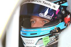 25.06.2011, GER, Motorsport, 24 H Rennen Nürburgring, im Bild Timo SCHEIDER (Audi) im Auto kurz vor dem Start , EXPA Pictures © 2011, PhotoCredit: EXPA/ A. Neis