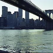 Down under the Brooklyn Bridge. Dumbo