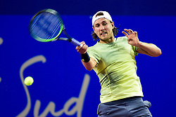 February 11, 2018 - Montpellier, France, France - Lucas Pouille  (Credit Image: © Panoramic via ZUMA Press)