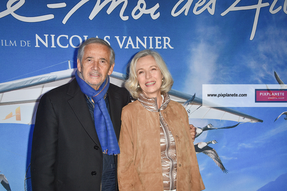 Alain Doutey Ariel Semenoff Avant première du film Donne Moi des Ailes Dimanche 6 Octobre 2019 UGC Normandie Paris
