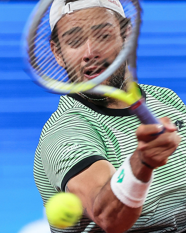 Tennis-ATP Serbia Open Belgrade 2021-Semi Final<br /> Matteo Berrettini (ITA) v Taro Daniel (JPN)<br /> Beograd, 24.04.2021.<br /> foto: Srdjan StevanovicStarsportphoto ©