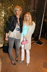 Left to right, ALEX FINLAY and IMOGEN LLOYD WEBBER at a party to celebrate 100 years of Chinese Cinema hosted by Shangri-la Hotels and Tartan Films at Asprey, New Bond Street, London on 25th April 2006.<br /><br />NON EXCLUSIVE - WORLD RIGHTS