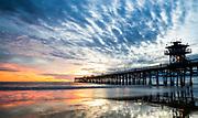 San Clemente Pier During Sunset