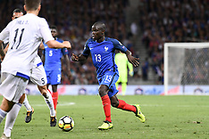 France vs Luxembourg - 3 Sep 2017