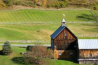 Farm on Cloudland Road Near Woodstock Vermont USA