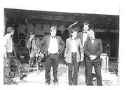David Aitkenhead. Sheila Young. Richard Wicks. Paul Capsey.  Dangerous Sports Club© Copyright Photograph by Dafydd Jones 66 Stockwell Park Rd. London SW9 0DA Tel 020 7733 0108 www.dafjones.com