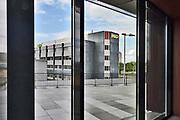 Nederland, Nijmegen, 25-5-2019 NXP semiconductors. Fabriek. Vestiging . Er worden chips, halfgeleiders, gemaakt. Foto: Flip Franssen