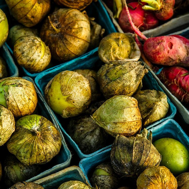 Tomatillos at a local farmer's market