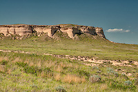These fantastic cliffs are some of the only stand-out features in this remote part of northwestern Colorado.