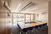 Andrew Pitt Seminar Room, New Build on completion March 2013. Oxford, UK