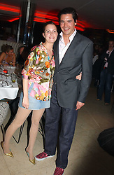 EDWARD TAYLOR and ISOBEL BUCHANAN-JARDINE at a night of Cuban Cocktails and Cabaret hosted by Edward Taylor and Charles Beamish at Floridita, 100 Wardour Street, London W1 on 14th April 2005.<br /><br />NON EXCLUSIVE - WORLD RIGHTS