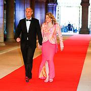 NLD/Amsterdam/20130429- Afscheidsdiner Konining Beatrix Rijksmuseum, Stef Blok en partner