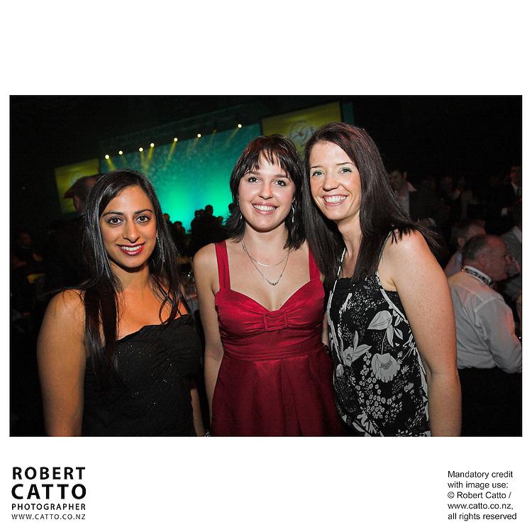 Raashi Malik;Charlotte Martelli;Wellington Convention Centre at the Wellington Region Gold Awards 07 at TSB Arena, Wellington, New Zealand.