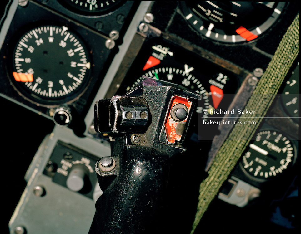 Red Arrows, Hawk cockpit 2004.