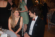 AMBER NUTTALL; SIMON LOVETT, The Cartier Chelsea Flower show dinner. Hurlingham club, London. 20 May 2013.