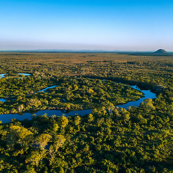 """Pantanal, Rio Miranda em Corumbá - MS (Paisagem) fotografado em Corumbá, Mato Grosso do Sul. Bioma Pantanal. Registro feito em 2017.<br /> <br /> <br /> <br /> ENGLISH: Miranda River photographed in Corumbá, Mato Grosso do Sul. Pantanal Biome. Picture made in 2017."""