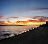 Sunset, Little Peconic Bay, Southold, NY
