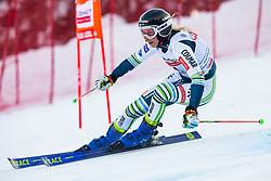 Ana Bucik (SLO) during Ladies' Giant Slalom at 57th Golden Fox event at Audi FIS Ski World Cup 2020/21, on January 17, 2021 in Podkoren, Kranjska Gora, Slovenia. Photo by Vid Ponikvar / Sportida