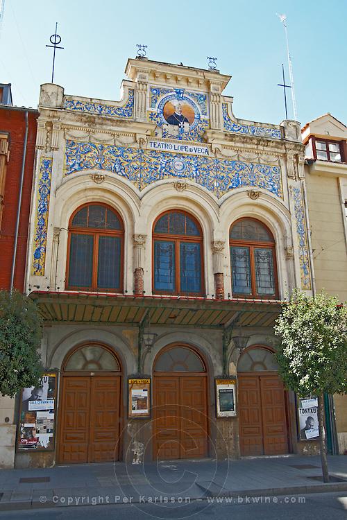 theatre Teatro Lope de Vega Valladolid spain castile and leon