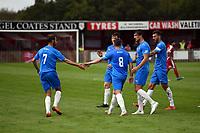 Adam Thomas. Colne FC 0-2 Stockport County FC. Pre-season friendly. 5.9.20