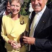 NLD/Laren/20070829 - Huwelijk Willibrord Frequin en Susanne Rastin, Jaap Rost Onnes en partner Mary