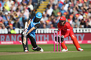 Worcestershire Rapids Moeen Ali during the Vitality T20 Finals Day semi final 2018 match between Worcestershire Rapids and Lancashire Lightning at Edgbaston, Birmingham, United Kingdom on 15 September 2018.