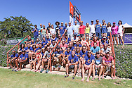 The exclusive field of trail runners assembled before lunch and prize giving on Sunday morning for a 2017 Tankwa Trail group photo, on the 19th of February. Photo by Oakpics / Dryland Event Management / Sportzpics {dem16gst}
