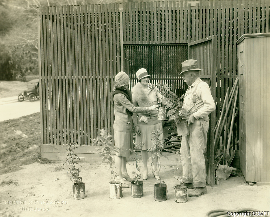 1929 The plant nursery at the Outpost Estates