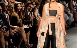 Judges Zac Posen, Jessica Alba, Heidi Klum and Nina Garcia introduce the Project Runway fashion show during New York Fashion Week at Gallery 1, Skylight Clarkson Sq on September 8, 2017 in New York City. Photo by Dennis Van Tine/ABACAPRESS.COM