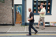 "Hay-on-Wye Books book shop in Hay-on-Wye or Y Gelli Gandryll in Welsh, known as ""the town of books"", is a small town in Powys, Wales famous for it's many second hand and specialist bookshops, although the number has declined sharply in recent years, many becoming general antique shops and similar."