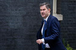© Licensed to London News Pictures. 10/07/2018. London, UK. Justice Secretary David Gauke arrives on Downing Street for the Cabinet meeting. Photo credit: Rob Pinney/LNP
