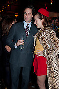 MAXIM CREWE; CHARLOTTE DELLAL, BFC/Vogue Designer Fashion Fund winner Christopher Kane announcement. Almada, 33 Dover Street, London,2 February 2011 -DO NOT ARCHIVE-© Copyright Photograph by Dafydd Jones. 248 Clapham Rd. London SW9 0PZ. Tel 0207 820 0771. www.dafjones.com.
