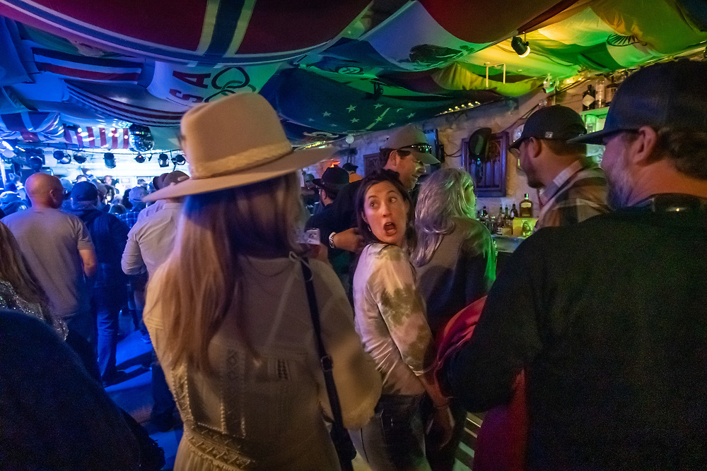 The Juke Joint performance scene on Friday nigh at Telluride Blues & Brews.