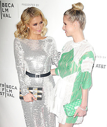 "2018 Tribeca Film Festival - ""The American Meme"". 27 Apr 2018 Pictured: Paris Hilton, Nicky Hilton Rothschild . Photo credit: MEGA TheMegaAgency.com +1 888 505 6342"