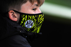 A ball boy watches the match from the stands- Mandatory by-line: Nizaam Jones/JMP - 17/10/2020 - FOOTBALL - innocent New Lawn Stadium - Nailsworth, England - Forest Green Rovers v Stevenage - Sky Bet League Two