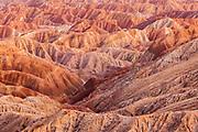 Borrego State Park.  Borrego Badlands - Sundown