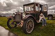 Unrestored 1915 Dodge Touring Car at WAAAM.