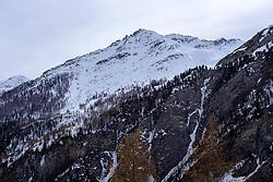 THEMENBILD - Schneebedeckte Gipfel der Blauspitze, Kereralm, Pahlberg, am Montag, 5. April 2021. Kals, Österreich // Snow covered summit of Blauspitze, Kereralm at the Phalberg on Monday, April 5, 2021. Kals, Austria. Kals, Austria. EXPA Pictures © 2021, PhotoCredit: EXPA/ Johann Groder