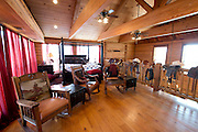 JUSTIN, TX - FEBRUARY 4, 2014: The upstairs loft of a home for sale at 1780 Strader Road for the What You Get column. (Cooper Neill / for The New York Times)