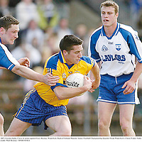 20 May 2007; Gordon Kelly, Clare, in action against Gary Hurney, Waterford. Bank of Ireland Munster Senior Football Championship Quarter-Final, Waterford v Clare, Fraher Field, Dungarvan, Co. Waterford. Picture credit: Matt Browne / SPORTSFILE