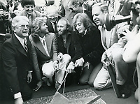 1979 The Bee Gee's Walk of Fame ceremony