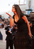 Maria Grazia Cucinotta at the gala screening for the film Everest and opening ceremony at the 72nd Venice Film Festival, Wednesday September 2nd 2015, Venice Lido, Italy.