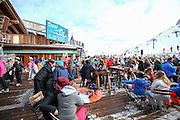 Tignes, France, Ski resort. La Folie Douce club