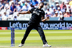Ish Sodhi of New Zealand - Mandatory by-line: Robbie Stephenson/JMP - 29/06/2019 - CRICKET - Lords - London, England - New Zealand v Australia - ICC Cricket World Cup 2019 - Group Stage