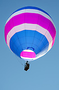 'Aspirations' in flight, Crown of Maine Balloon Fair, Presque Isle, Maine.