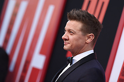 Jeremy Renner attends the premiere of Warner Bros. Pictures and New Line Cinema's 'TAG' on June 07, 2018 in Los Angeles, California. Photo by Lionel Hahn/ABACAPRESS.COM