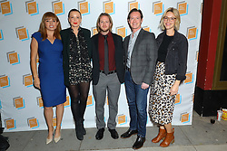 Natalie Britton, Lorna Larkin, Paul Horan, Kate Hamilton and guest at Irish Screen America: Float Like a Butterfly & Local Short Film Showcase held at Ahrya Fine Arts by Laemmle on November 02, 2019 in Los Angeles, California, United States (Photo by © Jc Olivera/VipEventPhotography.com)
