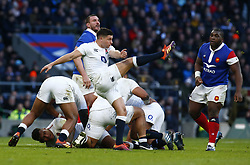 February 10, 2019 - London, England, United Kingdom - during the Guiness 6 Nations Rugby match between England and France at Twickenham  Stadium on February 10th, 2019 in Twickenham, London, England. (Credit Image: © Action Foto Sport/NurPhoto via ZUMA Press)